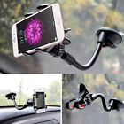 US 360° Car Windshield Mount Cradle Holder Stand For iPhone Smart Cell Phone GPS