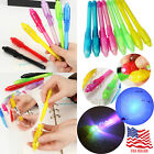 Light Pen Magic Black Creative Ink Set Stationery 4~20Pcs Combo UV Invisible