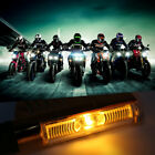 Motorcycle Lamp 9 LED Strip/1LED Blade Modified Signal Light With LED Decoder F#