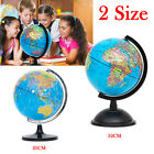"20""32""cm Rotating World Map Earth Globe + Swivel Stand Geography Educational Toy"