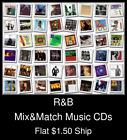 R&B(1) - Mix&Match Music CDs U Pick *NO CASE DISC ONLY*
