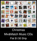 Christmas(2) - Mix&Match Music CDs U Pick *NO CASE DISC ONLY*