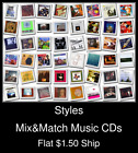 Styles(20) - Mix&Match Music CDs U Pick *NO CASE DISC ONLY*