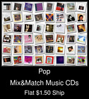 Pop(27) - Mix&Match Music CDs U Pick *NO CASE DISC ONLY*