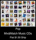Pop(33) - Mix&Match Music CDs U Pick *NO CASE DISC ONLY*