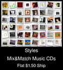 Styles(46) - Mix&Match Music CDs U Pick *NO CASE DISC ONLY*