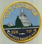 USS OLYMPIA SSN-717 US.NAVY PATCH NUCLEAR SUBMARINE SAILOR USA NUKE WAR BOAT