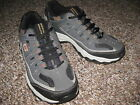 Skechers Sport Afterburn Charcoal Gray/Orange Mens Athletic Shoes SN 50125