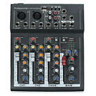 Mini Portable Mixer USB 4/7 Channels Studio Audio Console Built-in Sound Effects photo