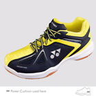 Yonex POWER CUSHION 35 Wide Badminton Shoes SHB35W Navy-Yellow  Unisex