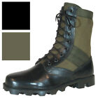 Vietnam Jungle Boots 8 Leather Canvas Panama Sole Military Army Tactical
