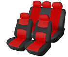 Car Seat Covers PU Leather Front + Rear Compatible to Dodge 553F Red $39.95 USD on eBay