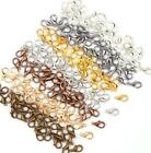 100Pcs Jewelry Loose Lobster Parrot Clasp Claw For Diy necklace bracelet 6 Color