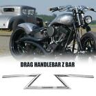 "7/8''& 1"" Drag Z Bars Handlebars For Honda Yamaha Suzuki Kawasaki Chopper Bobber $37.59 USD on eBay"