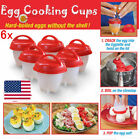 Home Garden - Eggies Egg Cooker Hard Boiled Eggs without the Shell 6 Eggies Egg Cups R1E