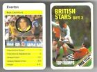 TOP TRUMPS British Stars Set 2 football card – VARIOUS