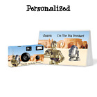 R2D2 & C3PO - Big Brother Gift-Disposable Camera & Album Set-personalize-gift