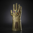 The Avengers Infinity War Thanos Gauntlet Cosplay Gloves Prop Hard Latex Mask