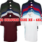 New Mens Ladies Active Pique Polo Shirt Size XS - 6XL Sport Work Leisure TOP LOT
