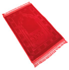 EXTRA LARGE: Exceptional Quality Padded Velvet Prayer Mats (Non Slip) (80x120cm)