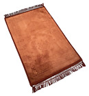 EXTRA LARGE: Exceptional Quality Padded Velvet Prayer Mats (Non Slip) (127x80cm)
