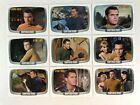 "STAR TREK TOS 40th ANNIVERSARY 1 Complete ""CAPTAIN PIKE"" Chase Card Set CP1-CP9"