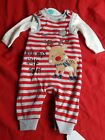 Christmas Unisex 2 Piece Set - T Shirt & Romper Suit - Mummy's Little Deer