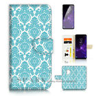 ( For Samsung S9+ / S9 Plus ) Case Cover A21400 Damask Pattern