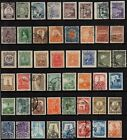 E) 48 Stamps from Mexico Mejico Mexiko Messico Mecsico postal  1903-40 fine used