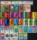 E) 45 Stamps from Mexico Mejico Mexiko Messico Mecsico olympic games and sports