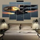 Star Trek Starship Enterprise 5 Panel Canvas Print Wall Art on eBay