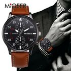 Casual Men Watches Shock Resistant Military Sports Business Leather Quartz-Watch
