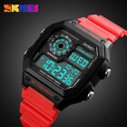 Sports Watch Water Resistant Silicone Strap Month Date LED Digital Men Watches
