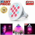 Grow Light Bulb Growing Plant Lamp W/ 12 LED Hydroponic For Indoor Garden 24W