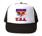 Trucker Hat Cap Foam Mesh Patriotic Socialism Was Not Made In The USA