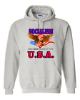 Hoodie Pullover Sweatshirt Patriotic Socialism Was Not Made In The USA