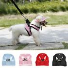 Dog Pet Puppy Mesh Walking Collar Strap Vest Harness Cloth Chihuahua Collar US