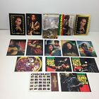 THE BOB MARLEY LEGEND Complete GOLD SIGNATURE Card Set + 12 SPECIAL SUBSET CARDS