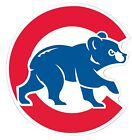 "Chicago Cubs MLB Old Style Bear Color Die Cut Vinyl - You Choose Size 3""-28"" on Ebay"