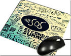 5SOS Collage Lyric Album Quote Gamming Mouse pad Mouse Mats