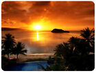 Agana Bay At Sunset Tamuning Guam Gamming Mouse pad Mouse Mats