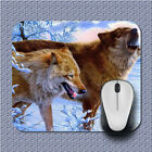Animal Brown Wolf Quote Gamming Mouse pad Mouse Mats