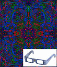 "3D Tapestry ""Psychedelic Liquid L"" (Glasses Included) - 2 Sizes"