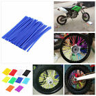 bicycle wheel spoke covers - Wheel Spoke Wraps Rims Covers Kit Skins Guard Protector For Motocross Dirt Bike