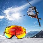 Fashion Spherical Surface Skiing Goggles Double Layers UV400 Anti-Fog Glasses TS