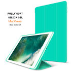 Luxury Smart Slim Leather Soft Silicone Stand Case Cover For iPad 9.7 2018/Air 2