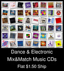 Dance & Electronic(5) - Mix&Match Music CDs U Pick *NO CASE DISC ONLY*
