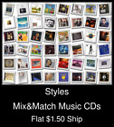 Styles(12) - Mix&Match Music CDs U Pick *NO CASE DISC ONLY*