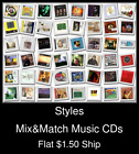 Styles(24) - Mix&Match Music CDs U Pick *NO CASE DISC ONLY*