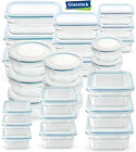 Glasslock Food Storage Container Microwave & Oven Safe 3 Container Set in 9 Size